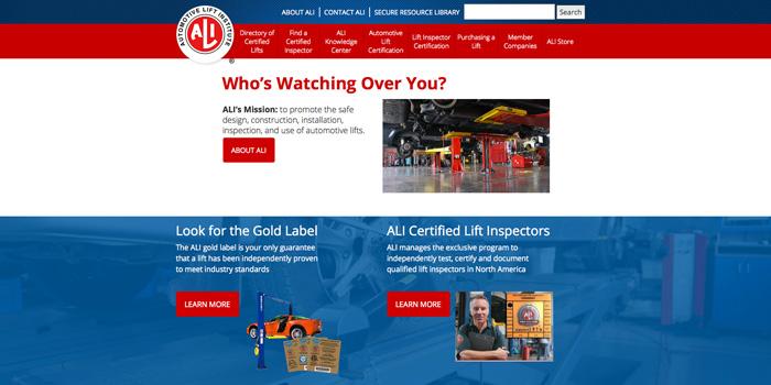 ALI-Website