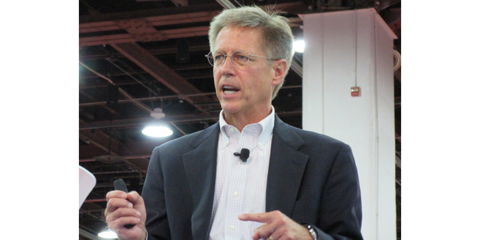 I-CAR CEO and President John Val Alstyne discussing the new Production Management Role at Nace | CARS 2015.