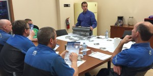 Training educates technicians on the importance of test welds.