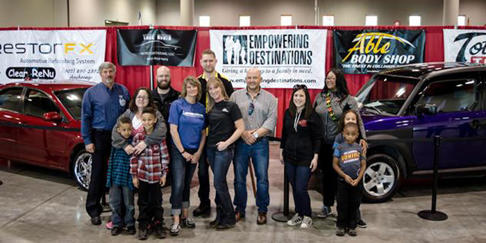 Able Body Shop S Empowering Destinations Holds Annual Vehicle Giveaway