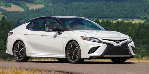 Redesigned Toyota Camry Features Lightweight Body Standard Backup Camera Aluminum Hood
