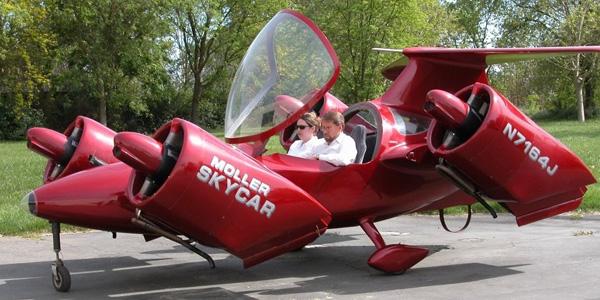 Moller Flying Car for Sale on eBay: Buy It Now for $5 Million (Just