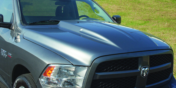Diamond Standard Parts Introduces New Custom Dodge Ram Cowl Hood