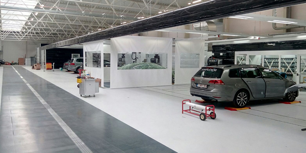 Symach S Fixline System Installed In New State Of The Art Body Shop In Belgium