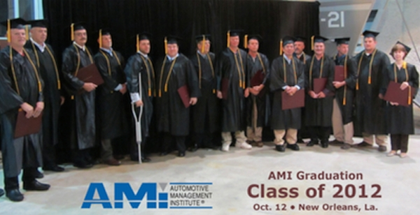 Automotive Management Institute Honors AAM Class of 2012