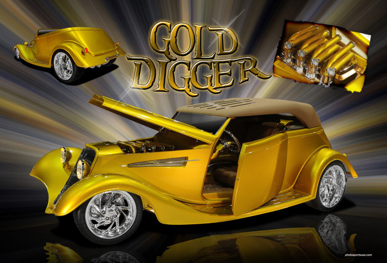 Ppg Painted Gold Digger Wins 2010 Ridler Award Bodyshop Business,T Mobile Free Inflight Wifi Delta