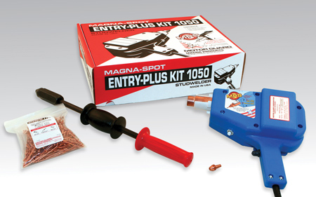 The JO-1050 Entry-Plus Kit is the latest addition to Magna-Spot Line of dent removal tools. This new kit economical yet contains professional-level No-Holes Dent Repair - Body Shop Business
